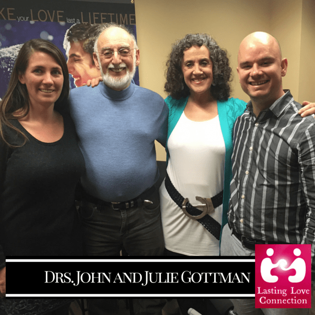 What Makes Love Last? A Rare and Live Interview with Drs. John and Julie Gottman